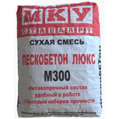 ПЕСКОБЕТОН М300 ЛЮКС МКУ 40 КГ